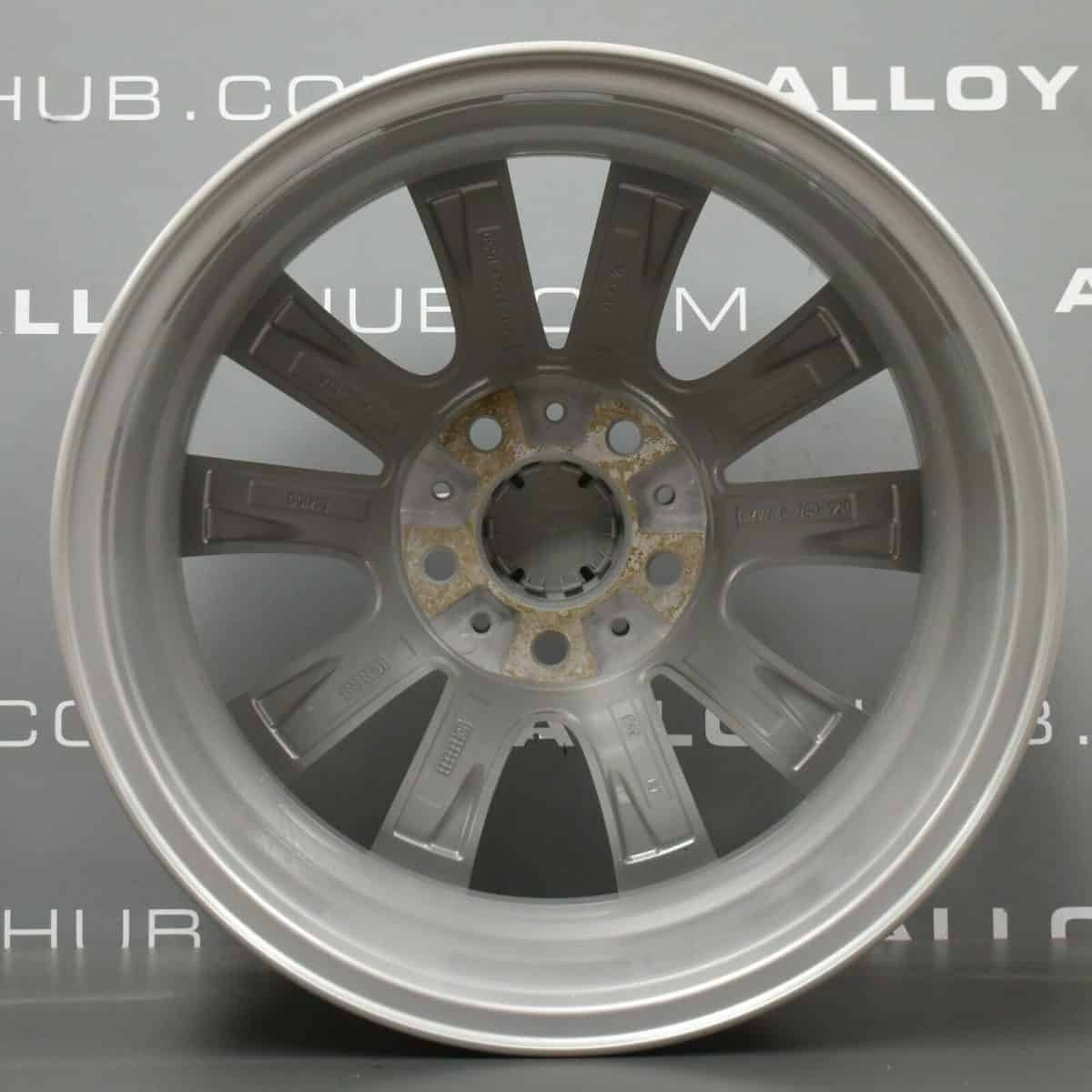 """Genuine BMW 5 series F10 F11 Style 236 9 Spoke 17"""" inch Alloy Wheels with Silver Finish 36116780720"""