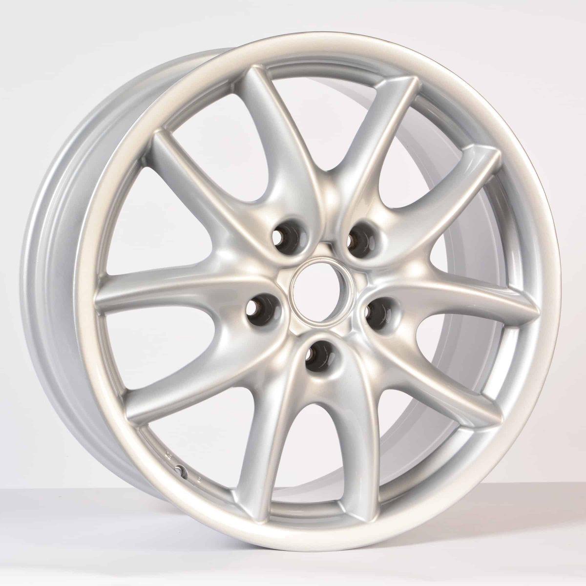 "Genuine Porsche Cayenne 955 957 Design Spoke 19"" inch Alloy Wheels with Silver Finish 715 601 025 B"