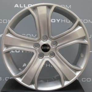 Genuine Land Rover Range Rover Sport Autobiography HSE HST 5 Spoke 20″ Inch Alloy Wheels with Sparkle Silver Finish LR028938