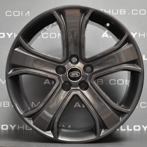Genuine Land Rover Range Rover Sport Autobiography HSE HST 5 Spoke 20″ Inch Alloy Wheels with Anthracite Grey Finish LR028938