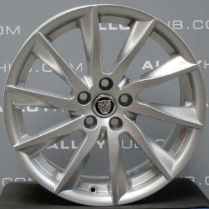 "Genuine Jaguar F-Type Vela 18"" inch Alloy Wheels with Silver Finish BW83-1007-AA EX53-1007-BA"