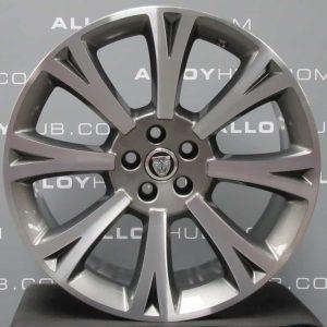 "Genuine Jaguar XJ X351 Orona 20"" Inch Alloy Wheels with Grey & Diamond Turned Finish BW9M-1007-CA, BW9M-1007-DA"