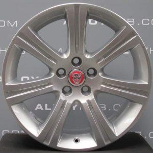 "Genuine Jaguar XF X250 Venus 7 Spoke 18"" Inch Alloy Wheels with Silver Finish 8W83-1007-AB"