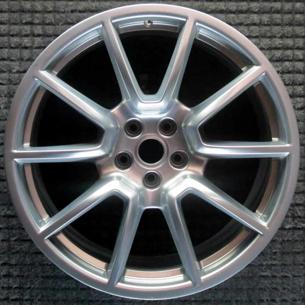 "Genuine Porsche Macan 95B Sport Design 20"" Inch Alloy Wheels with Silver Finish 95B601025BH88Z 95B601025BJ88Z"
