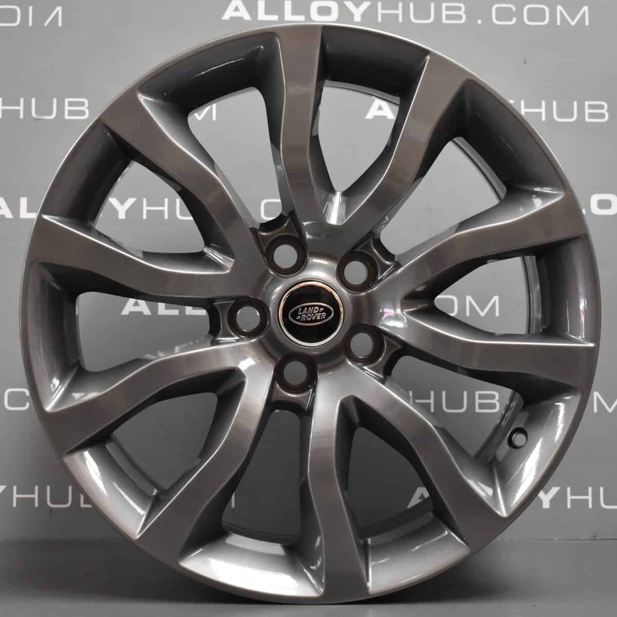 """Genuine Land Rover Range Rover Style 12 5020 20"""" inch 5 Split Spoke Alloy Wheels with Anthracite Grey Finish LR044848"""