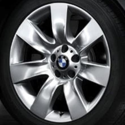 Genuine BMW 5 Series F10/F11 Style 251 19″ inch 7 Spoke Alloy Wheels with Silver Finish 36116775390 36116775391