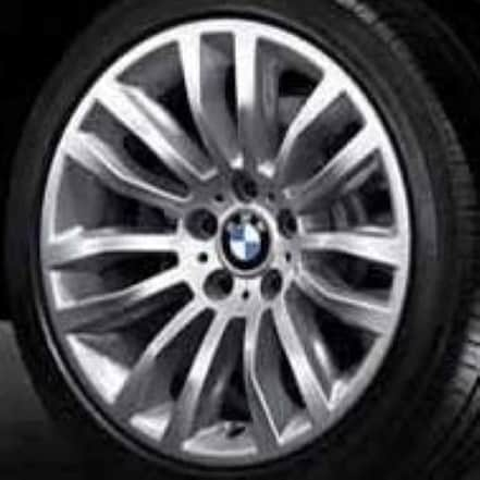 Genuine BMW X1 E84 Style 321 18″ inch 7 Double Spoke Alloy Wheels with Silver Finish 36116789144