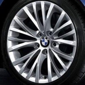 Genuine BMW Z4 E85 E86 E89 Style 293 18″ inch Multi-Spoke Alloy Wheels with Silver Finish 36116785250 36116785251