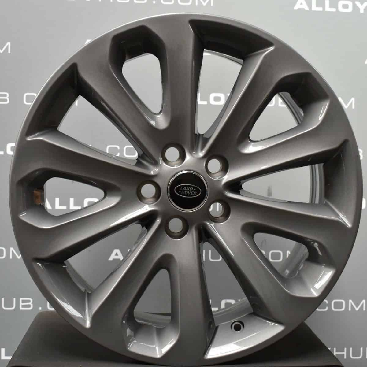 """Genuine Land Rover Range Rover Style 5002 20"""" inch 5 Split Spoke Alloy Wheels with Anthracite Grey Finish LR037745"""