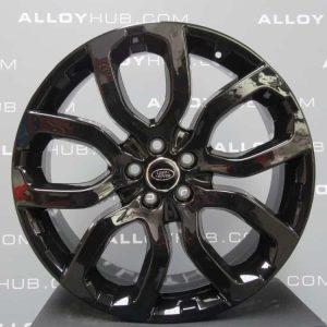 Genuine Land Rover Range Rover 22″ inch Style 5004 5 Split Spoke Alloy Wheels with Gloss Black Finish LR037747