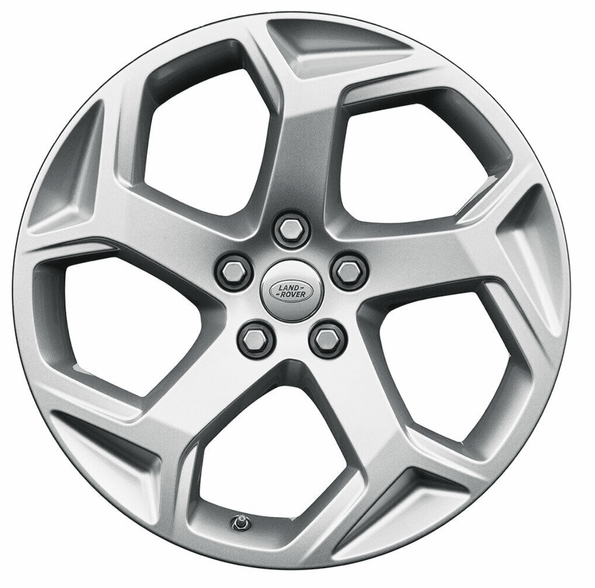 """Genuine Land Rover Range Rover Style 5084 20"""" inch 5 Split-Spoke Alloy Wheels with Sparkle Silver Finish LR099135"""