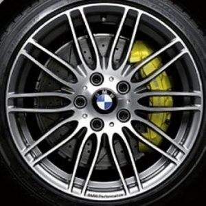 Genuine BMW 3/4 Series 269M Sport Performance 19″ inch 10 Double Spoke Alloy Wheels with Grey & Diamond Turned Finish 36116781046 36116781047