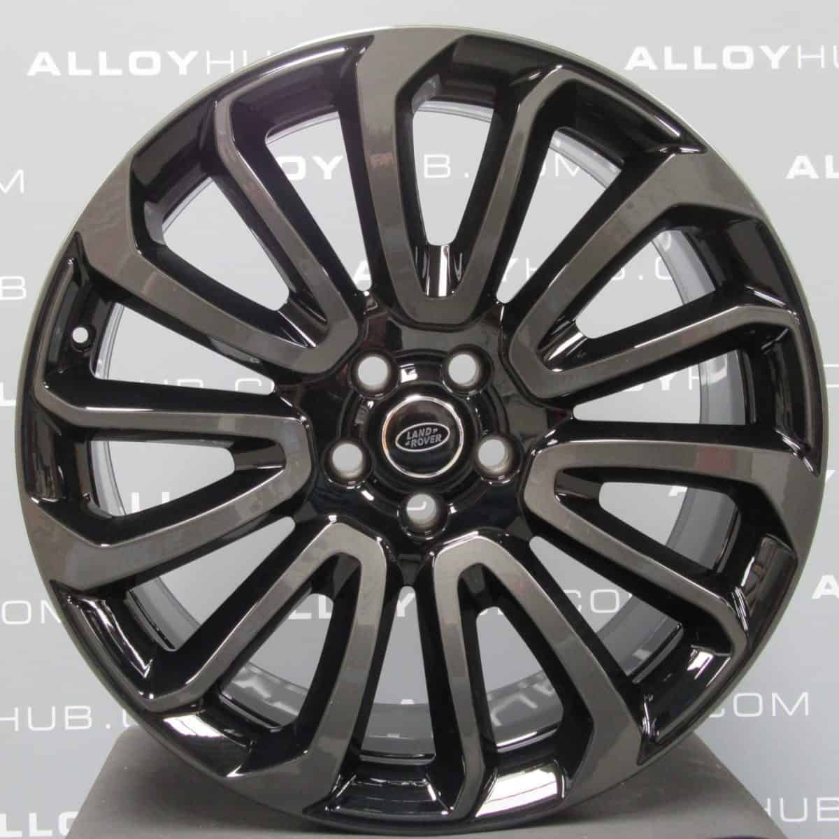 """Genuine Land Rover Range Rover 22"""" inch Style 16 7007 Alloy Wheels with Black & Grey Two Tone Finish LR039141"""