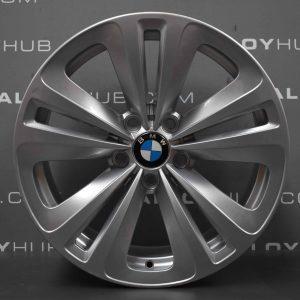 "Genuine BMW 5 Series GT F07 Style 234 LA Spoke 18"" inch Alloy Wheels with Silver Finish 36116775403"