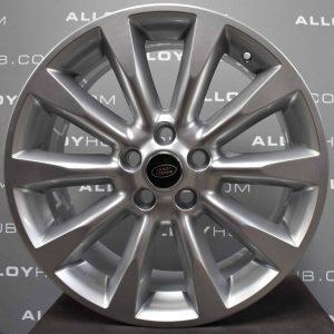 "Genuine Range Rover Range Rover L322 Vogue 20"" Inch 10 Spoke BBS Alloy Wheels with Sparkle Silver Finish RRC504370XXX"