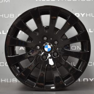 Genuine BMW 6 Series E63/E64 Style 118 18″ inch Alloy Wheels with Gloss Black Finish 36116758777 36116765306