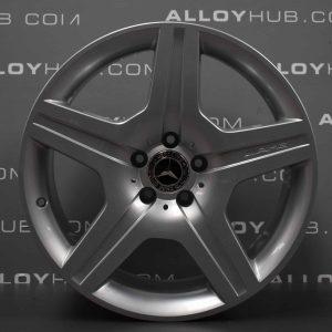 "Genuine Mercedes-Benz ML W164 19"" inch 5 Spoke Alloy Wheels with Silver Finish A1644011902"