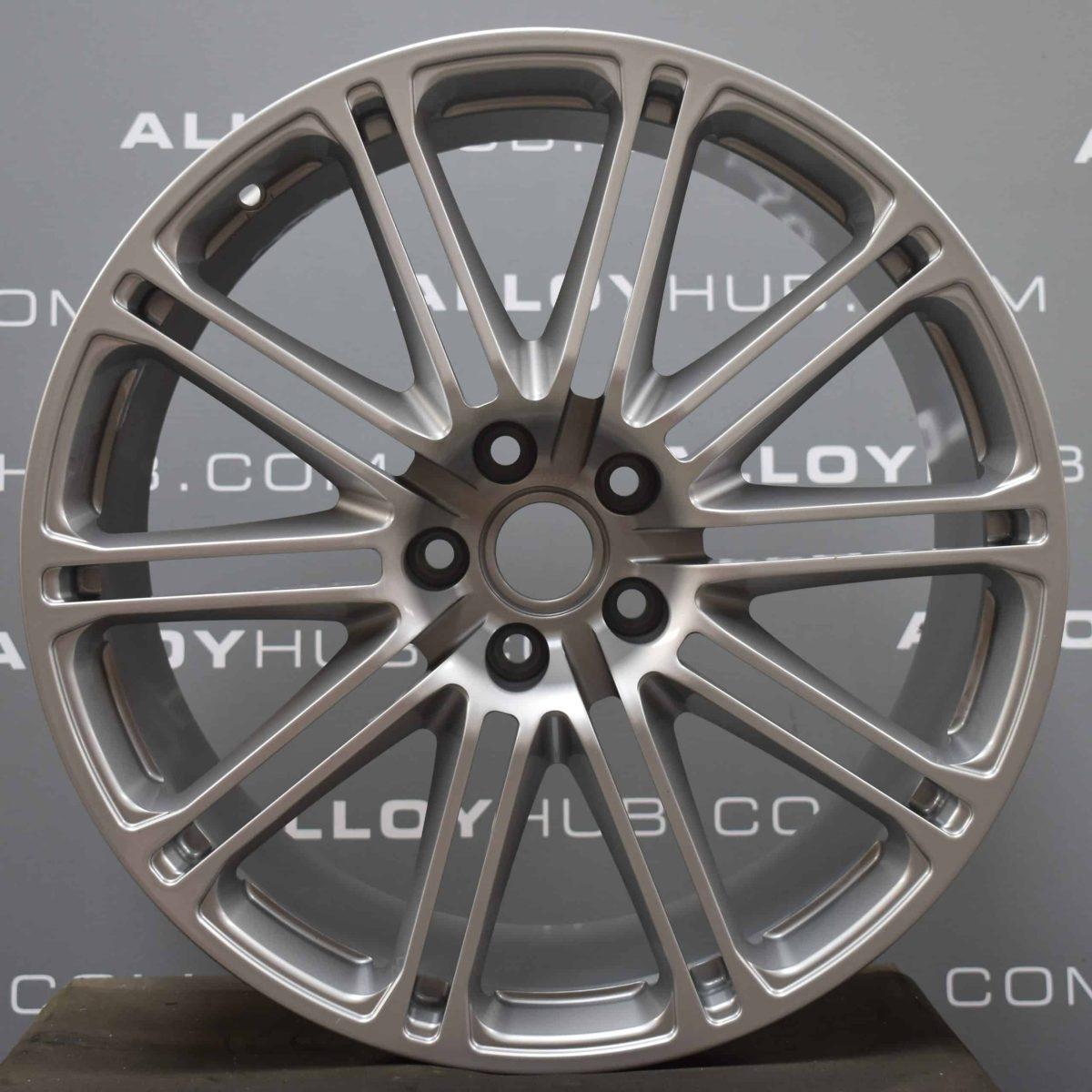"Genuine Aston Martin DBS DB9 Speedline 10 Double Spoke 20"" Inch Alloy Wheels with Silver Finish 8D33-1007-A, 8D33-1007-B"
