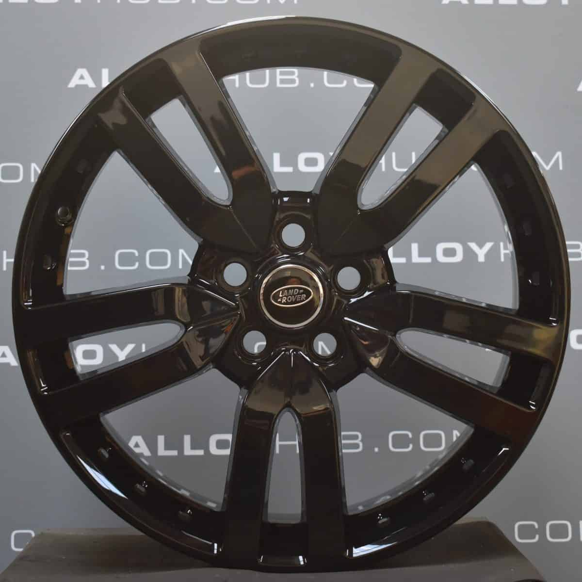 """Genuine Land Rover Discovery 4/3 Landmark HSE 20"""" Inch 5 Split-Spoke Style 510 with Gloss Black Finish Alloy Wheels VPLAW0002"""