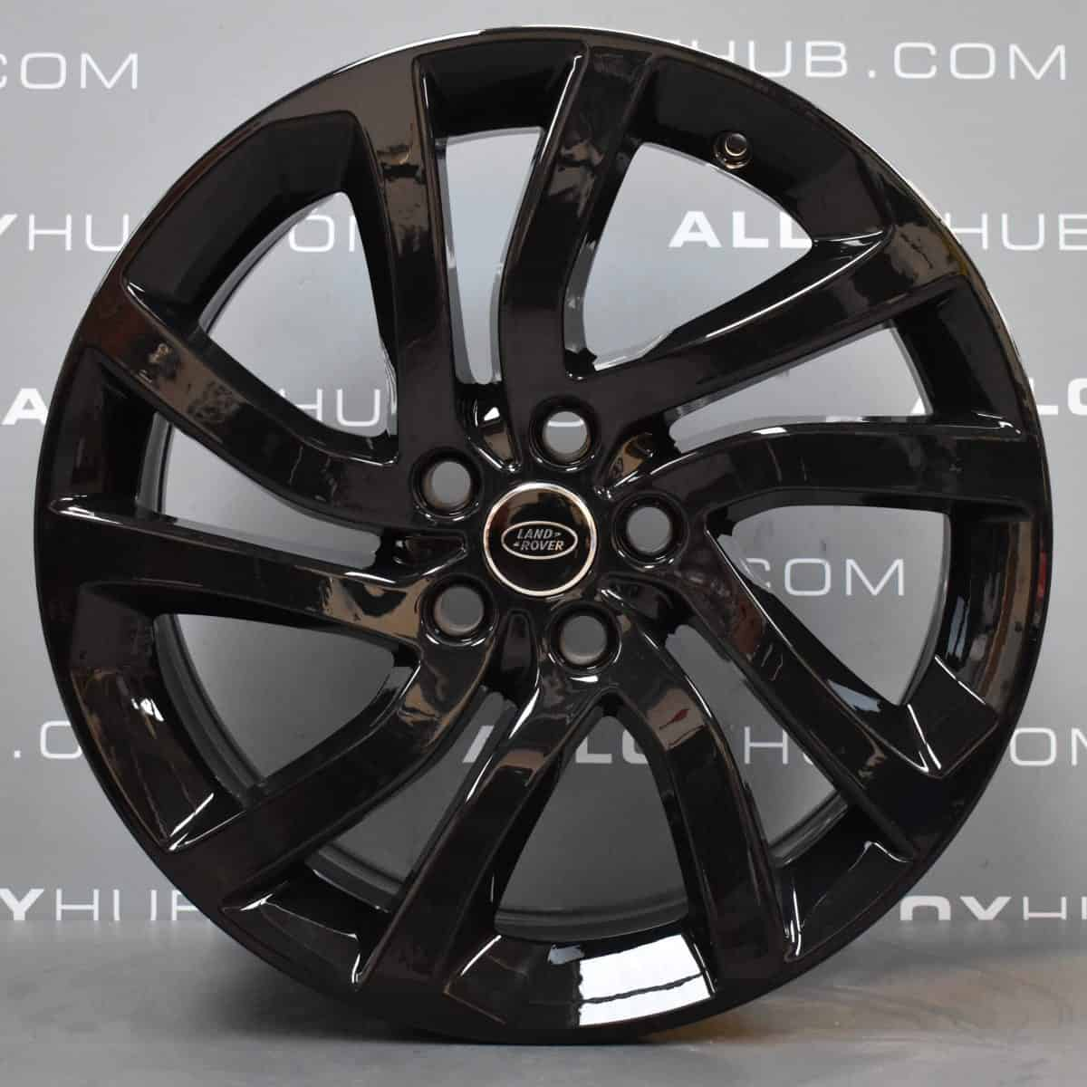 Genuine Land Rover Discovery 5 Style 5011 5 Split-Spoke 20″ inch Alloy Wheels with Gloss Black Finish LR081587