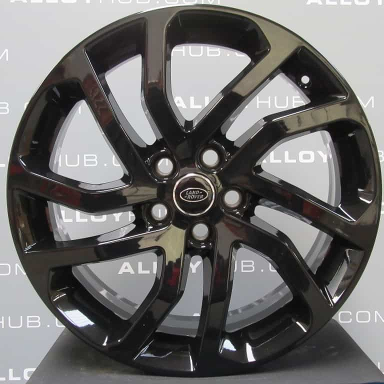 """Genuine Land Rover Discovery 4/3 20"""" Inch 5 Split-Spoke Style 511 with Gloss Black Finish Alloy Wheels LR050887"""