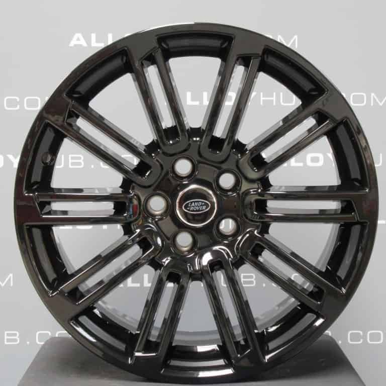 """Genuine Land Rover Discovery 4/3 20"""" Inch 10 Spoke Style 104 Gloss Black Alloy Wheels VPLAW0003"""