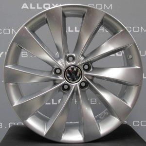 Genuine Volkswagen Scirocco Interlagos Turbine 18″ inch Alloy Wheels with Silver Finish 3C8 601 025 D
