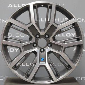 "Genuine Volvo XC60 Polestar Performance 21"" inch Alloy Wheels with Grey & Diamond Turned Finish 31408013"