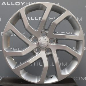 """Genuine Land Rover Discovery 4/3 20"""" Inch 5 Split-Spoke Style 511 with Sparkle Silver Finish Alloy Wheels LR050887"""