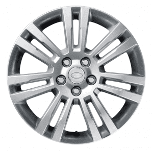 """Genuine Land Rover Discovery 4/3 19"""" Inch 7 Spoke Style 704 with Sparkle Silver Finish Alloy Wheels LR050886"""