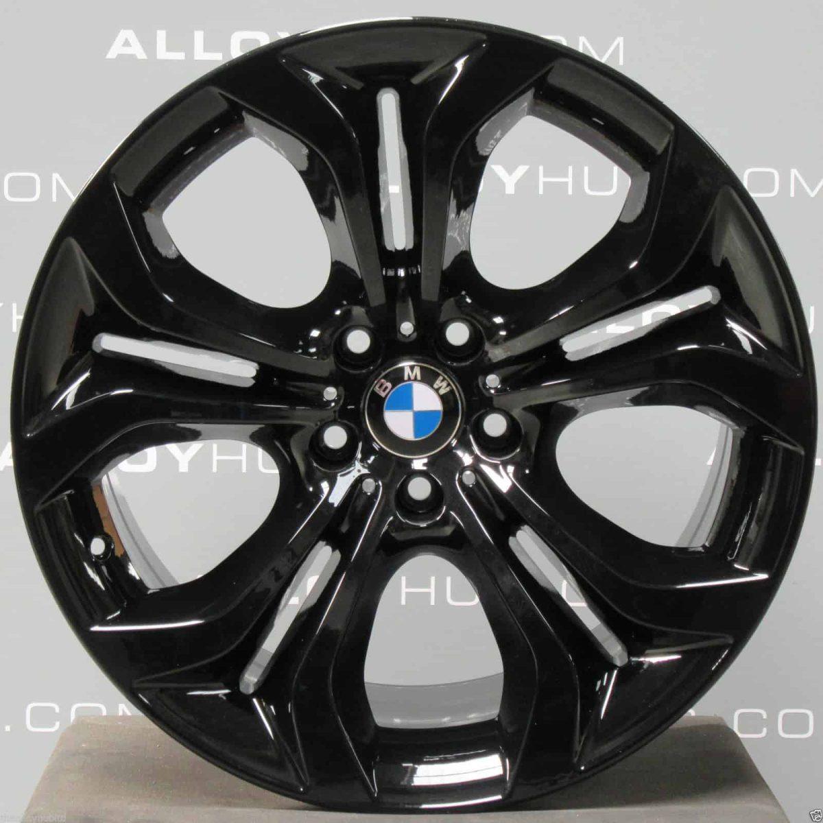 "Genuine BMW X6 E71 E72 336 M Sport Performance 20"" inch Alloy Wheels with Gloss Black Finish 36116788010 36116796152"