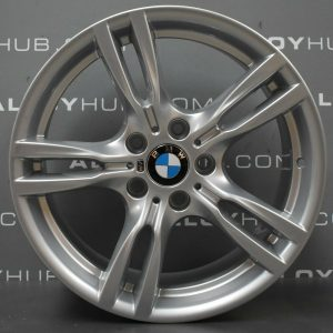Genuine BMW 3/4 Series 400M Sport 18″ Inch Alloy Wheels with Silver Finish 36117845880 36117845881