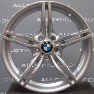"""Genuine BMW Z4 E85 E86 E89 Style 326 M Sport 19"""" inch Alloy Wheels with Silver Finish 36117842135 36117842136"""