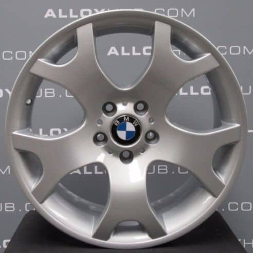 """Genuine BMW X5 Style E53 Style 63 M Sport Tiger Claw 19"""" inch Alloy Wheels with Silver Finish 36111096231 36111096228"""