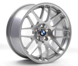 """Genuine BMW M3 CSL E90 E92 E93 19"""" Inch 359M Sport Original Light Alloy Wheels in Hyper Silver Finish 36112284055 36112284060"""