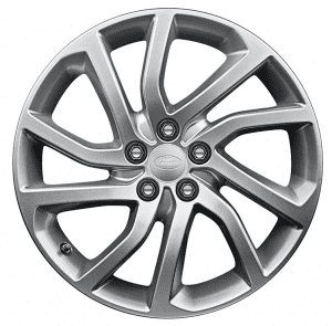 """Genuine Land Rover Discovery Sport HSE L550 20"""" inch Style 5011 5 Split Spoke Alloy Wheels with Sparkle Silver Finish LR073513"""