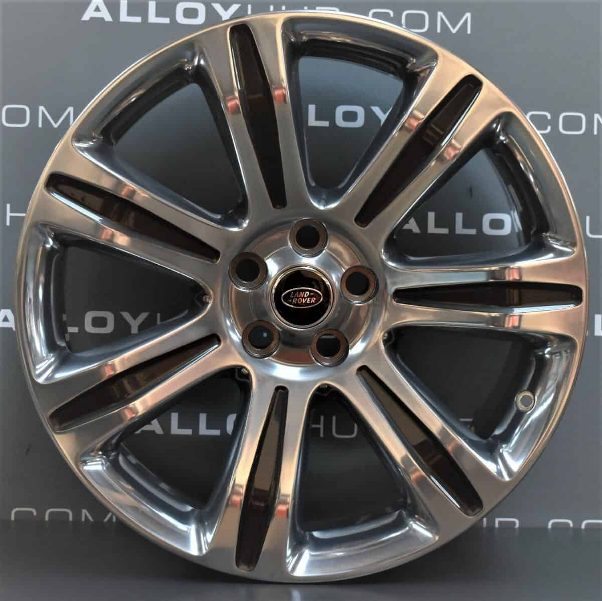 Genuine Range Rover SV L405/L494 Sport Autobiography Style 7006 21″ inch Alloy Wheels with Grey & Polished Finish DK5M-1007-AB