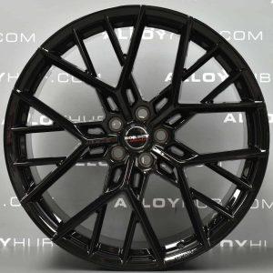 "Genuine Borbet Y Spoke 23"" inch Y Spoke Alloy Wheels with Gloss Black Finish"