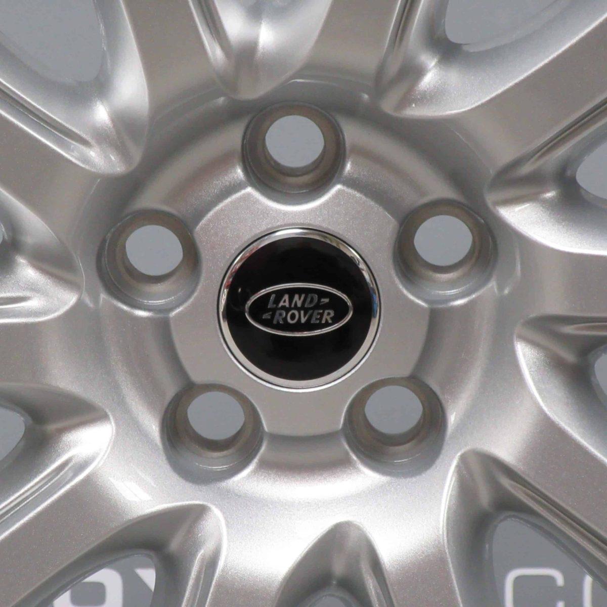 "Genuine Land Rover Range Rover Sport L494 Vogue L405 Style 1001 21"" inch 10 Spoke Sparkle Silver Alloy Wheels LR037746"