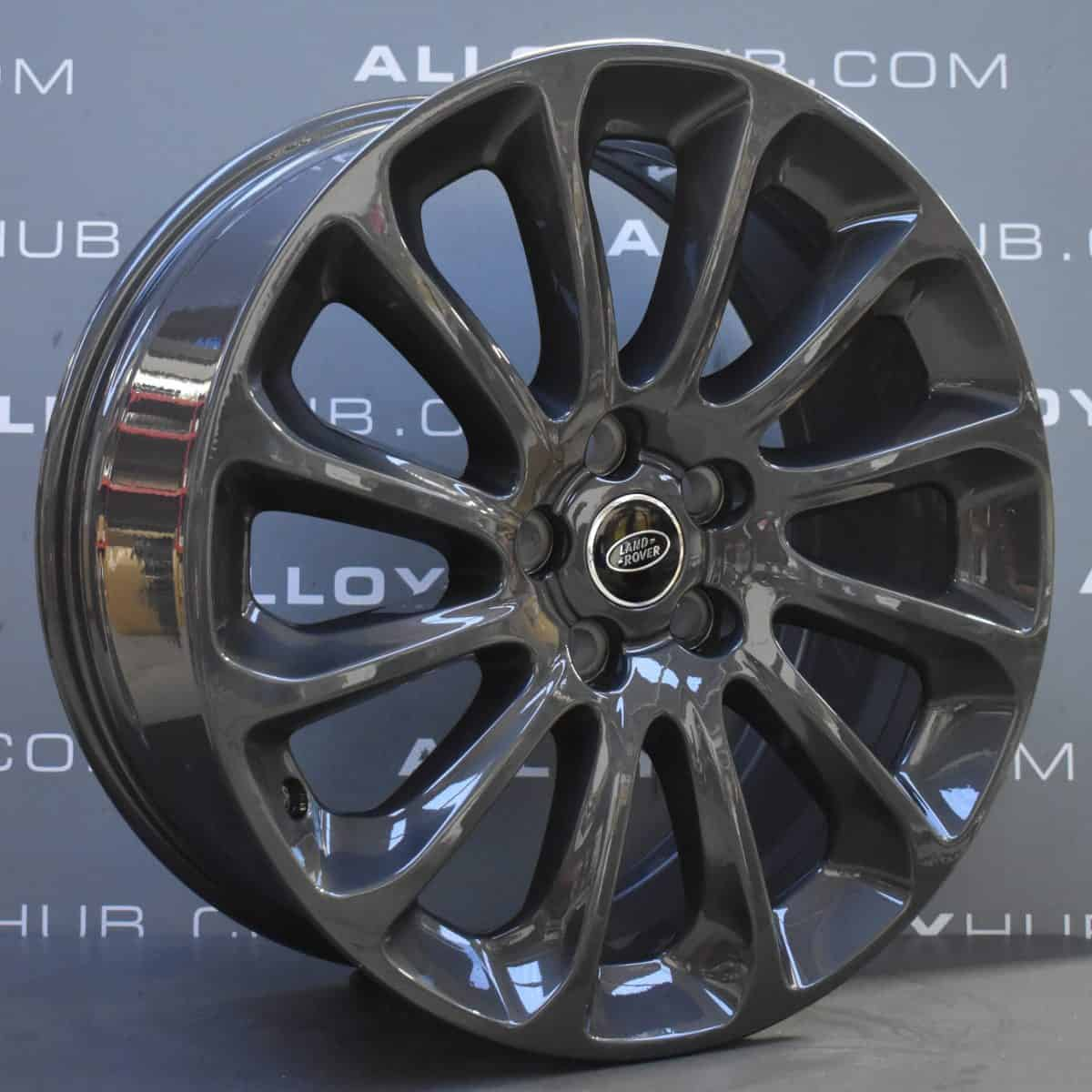 "Genuine Land Rover Range Rover Sport/Vogue L494 L405 Style 1065 20"" inch 12 Spoke Anthracite Grey Alloy Wheels LR098796"