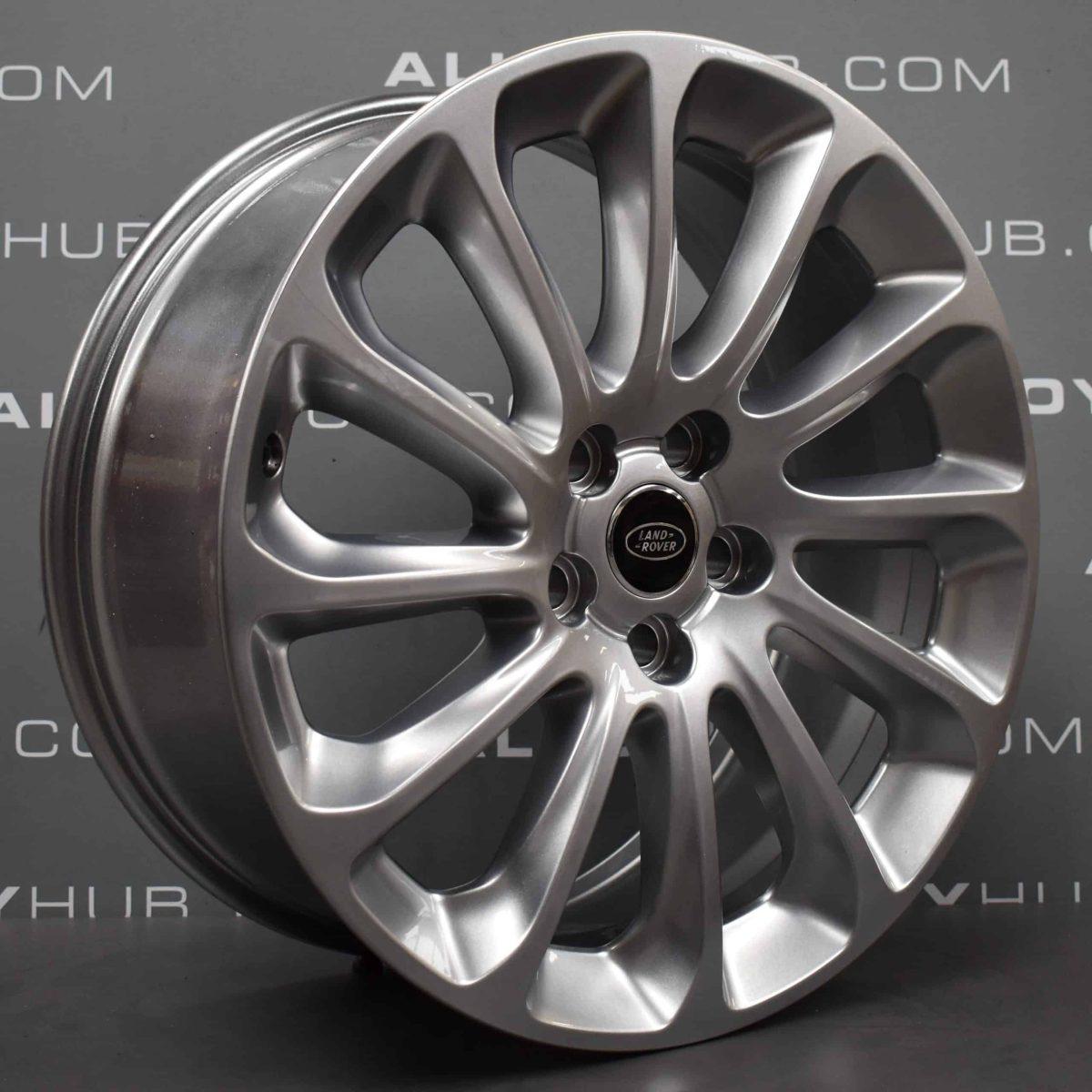 "Genuine Land Rover Range Rover Sport/Vogue L494 L405 Style 1065 20"" inch 12 Spoke Silver Alloy Wheels LR098796"