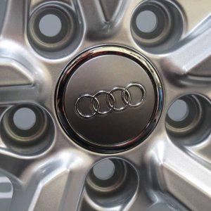 """Genuine Audi TT MK3 8S 5 Split Spoke 19"""" Inch Alloy Wheels with Silver Finish 8S0 601 025 N"""