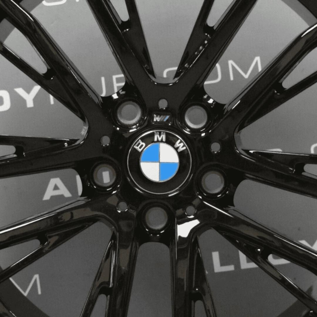 "Genuine BMW 1/2 Series F20/F22 Style 624M Sport Performance 10 Spoke 19"" Inch Alloy Wheels with Gloss Black Finish 36116862772 36116862773"