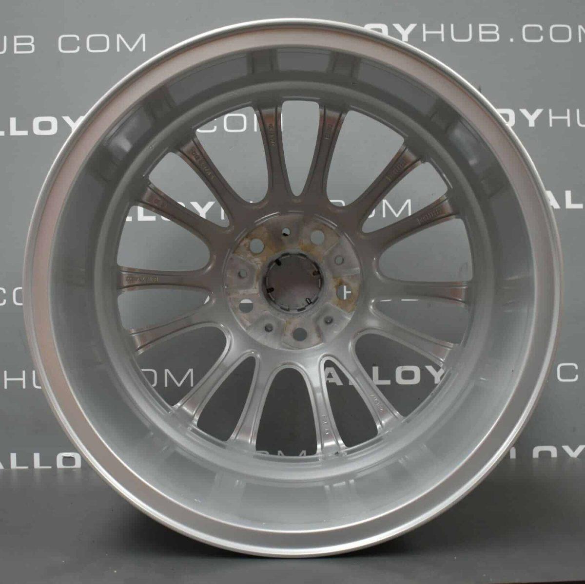 "BMW 5/7 Series 302M V Spoke Sport Silver 19"" Alloy Wheel"