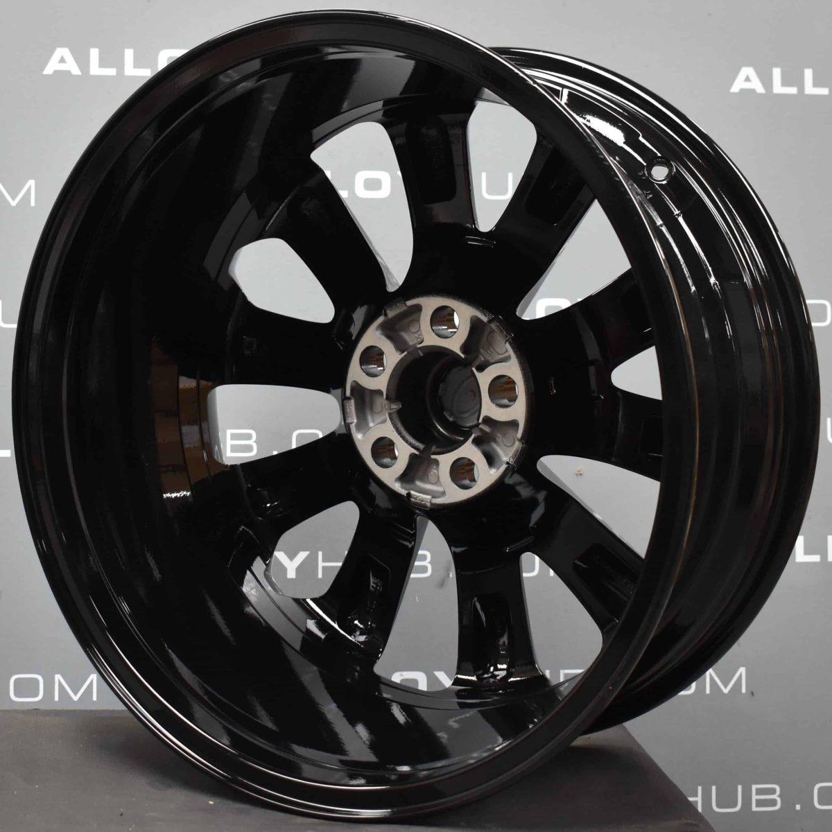 """Genuine Land Rover Range Rover Style 5002 20"""" inch 5 Split Spoke Gloss Black Alloy Wheels LR037745"""