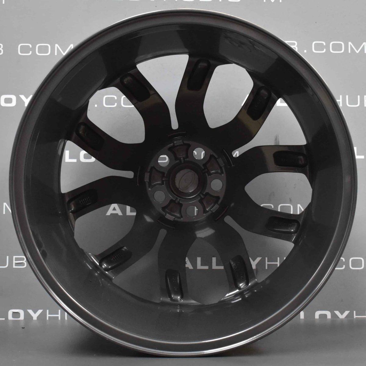"Genuine Range Rover Evoque L538 20"" inch Style 5004 5 Split-Spoke Anthracite Grey Alloy Wheels LR024425"