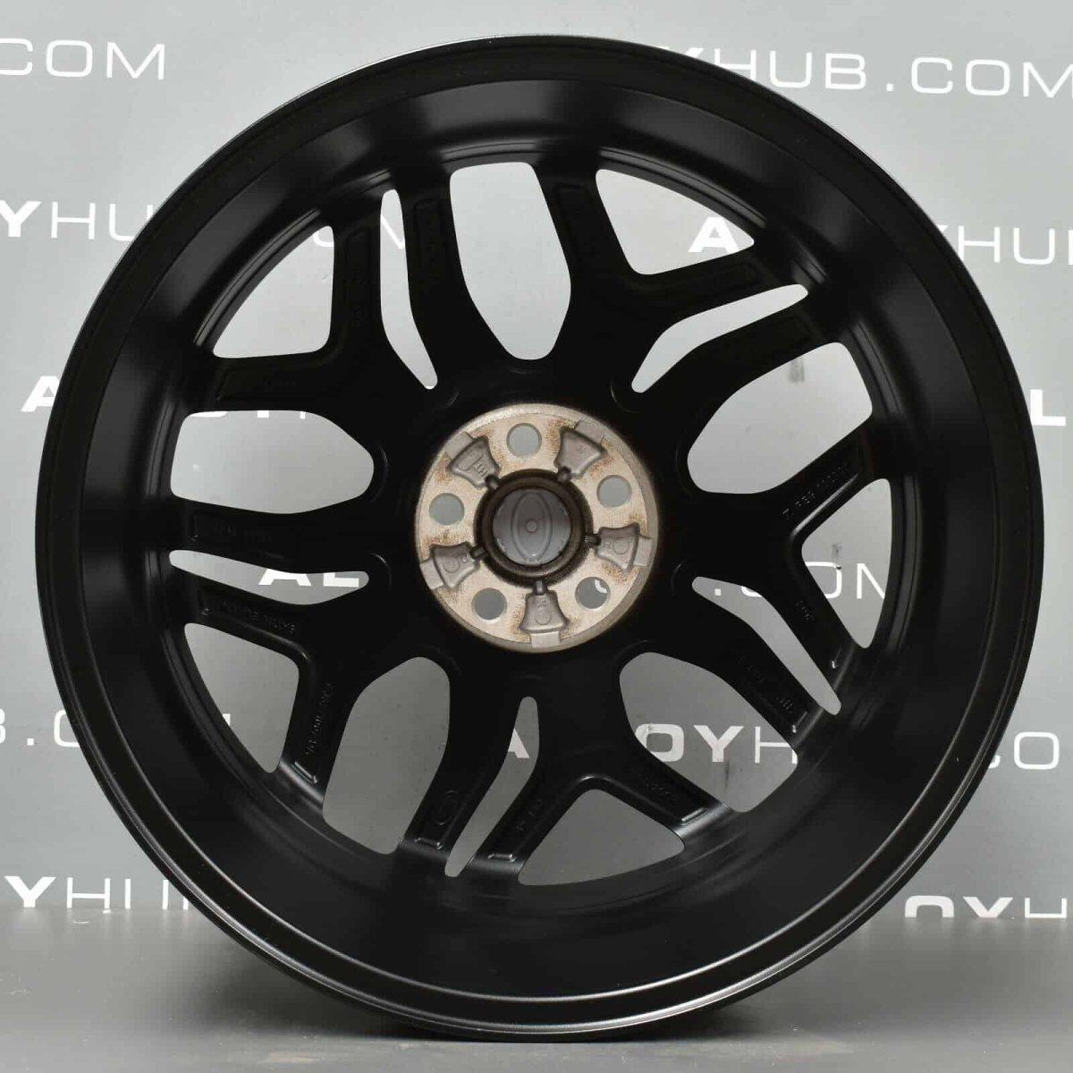 "Genuine Range Rover Evoque L538 20"" inch Style 5008 5 Split-Spoke Satin Black Alloy Wheels LR072182"