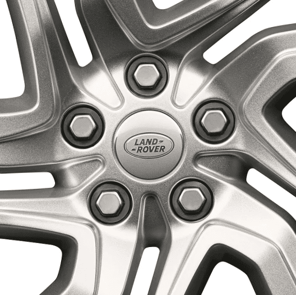 "Genuine Land Rover Range Rover Sport L494 Vogue L405 Style 5085 21"" inch 5 Split-Spoke Sparkle Silver Alloy Wheels LR099136"