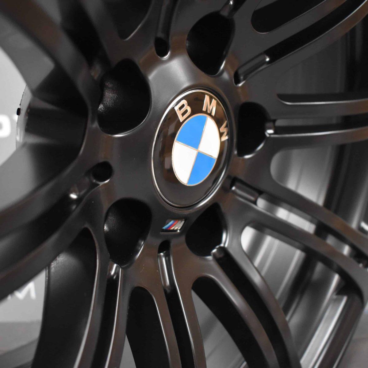"""BMW M3 220M 19"""" 10 Double Spoke Satin Black Alloy Wheel"""