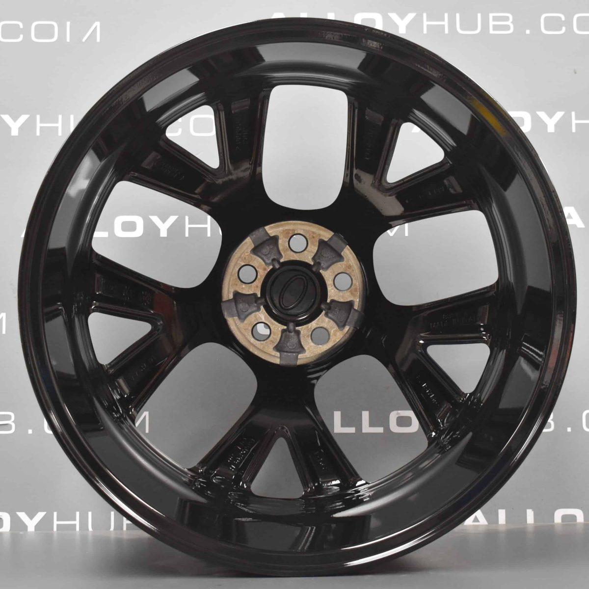 "Genuine Land Rover Discovery Sport 20"" inch Style 5076 5 Split Spoke Gloss Black Alloy Wheels LR114521"